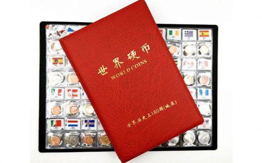 世界钱币 外国各国家地区硬币收藏册全套 180个国家地区硬币册 特价甩卖【Z】