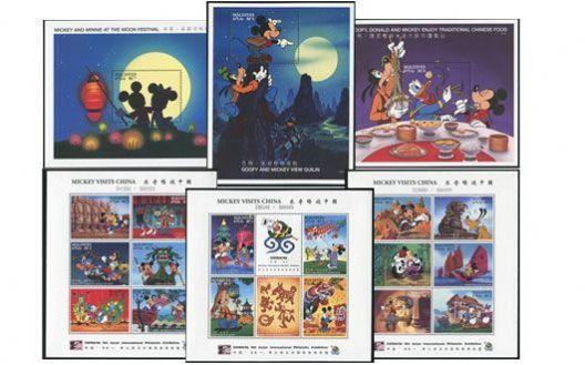 马尔代夫 迪士尼小型张+小版张 一、二、三组合售 数量有限 预购从速!【L】