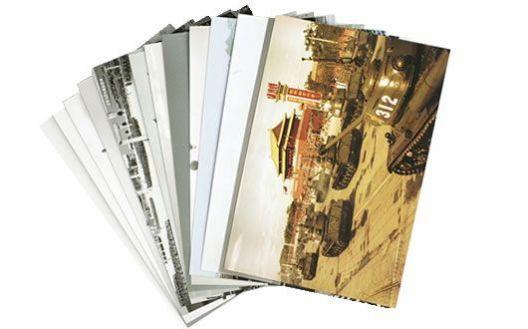建国60周年钢铁长城大阅兵专用邮资明信片 【Z】