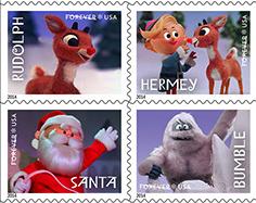 美国将发行红鼻子驯鹿鲁道夫邮票