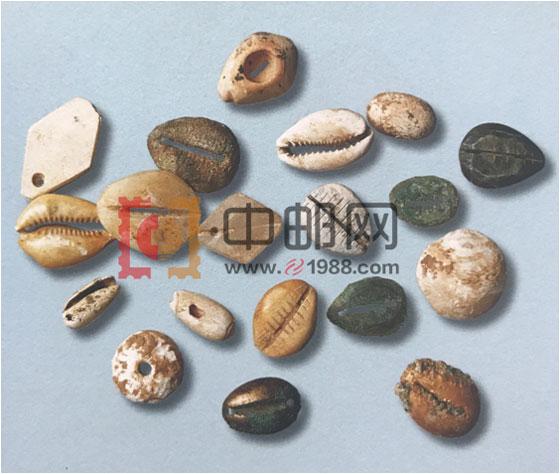 殷商和周早期:各种材质的贝币