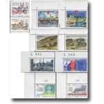 1986年北欧合作:城市风光邮票