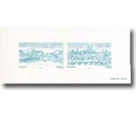 中法建交50周年邮票票样 1枚全