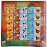 澳门2014年三轮马年生 邮票( 大版票)