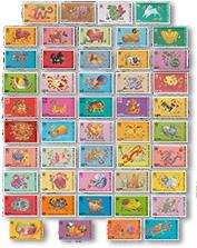 香港第二轮生肖邮票大全套