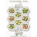 列支敦士登2016年传统水果品种-梨 邮票多边小全张