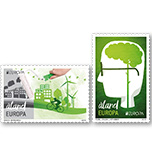 """2016年""""欧罗巴""""邮票关注绿色欧洲"""