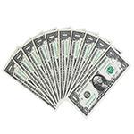 LP40035 1美元2013年华盛顿(十连号)