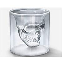 LP0017 DOOMED双层骷髅头酒杯(加厚款)