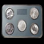 LP60029 2016年世界五大银币套装