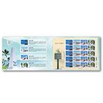 LP10011 特638《南海和平倡议邮票》大版张邮折