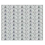 LP40025 2016新版1美元50连体钞带筒