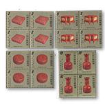 专143 古代雕漆器古物邮票 (方连)(1978年)