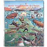 联合国 日内瓦 1998 国际海洋年 鲸鱼 海豹 鱼类 小版张