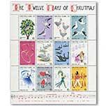 圣诞岛1977年 动物鸟类 人群齐欢庆邮票小版张 全新