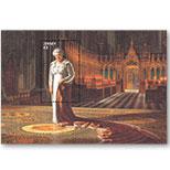 泽西岛2015年英国女王伊丽莎白二世丝绸小型张(欧洲)