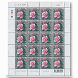 泰国 2003 情人节 玫瑰花 香味邮票 大版张