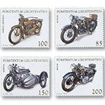 列支敦士登邮票:2016 交通工具系列-摩托车