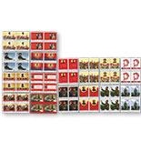 朝鲜 2013年毛泽东诞生120周年 毛主席语录 文革邮票 16全(方连邮票64枚)(横版 竖版各8枚)