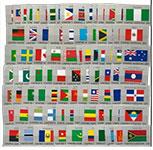 联合国(1980-2014)国旗系列(1-17组)大全套,(联合国)