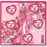 法国邮票 2009年情人节异型票小版张.爱心.伊曼纽尔