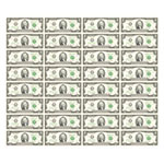 2美元32连体钞(带筒)