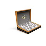 LP60034-B 中国人民解放军建军90周年纪念银章(中国金币总公司)足银套装封装版