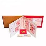 LP60035-A 《建军伟业》中国人民解放军90周年纪念钞(足银四连体套装)