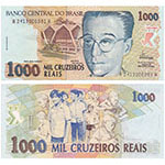 1993年版巴西(1000)