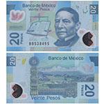 2006-2013年版墨西哥20比索