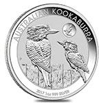 澳大利亚2017年翠鸟1盎司纪念银币(鲨鱼版)