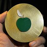 亚当夏娃苹果创意大铜章