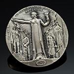 法国建筑机械公司40周年纪念大银章(大师布兰)