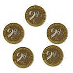 LP40135-B 2017年建军90周年普通纪念币(五枚合售配圆盒)