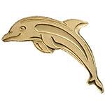 """帕劳2017年幸运钱币系列""""幸运海豚""""异形0.5克小金币"""