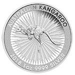 澳大利亚2018年袋鼠1盎司银币