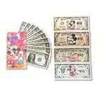 WGZB2870 迪士尼限量版纸币贺年红包(14枚/套)