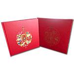 QTYC-105 《旺福年》拜年1-4合集-北京市邮票公司