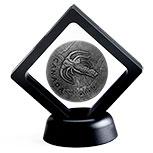 加拿大2018年史前加拿大(4)马尔三叶形虫化石仿古银币(需预定)