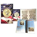 美国1美元总统纪念币 39枚(2007-16年)大全套 原装册装 全新卷拆