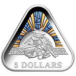 澳大利亚2018年陆海空三军三角形纪念币(陆军 海军 空军)