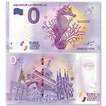 WGZB2867-J 2017年欧盟0元纸币动物系列水族馆里的海马纪念钞