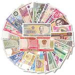 全新30个国家30张纸币大全套