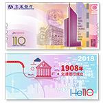 交通银行创立110周年纪念钞