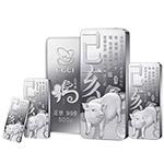 中国金币总公司 2019年乙亥(猪)年贺岁银条1000克