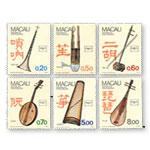 AM0383 S12 乐器邮票(1986年)