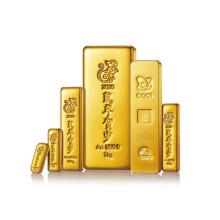 中国金币总公司 2020年生肖鼠年贺岁金条(30克)