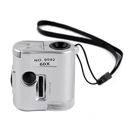 RF151 60倍验钞带光源放大镜(带LED灯)迷你型