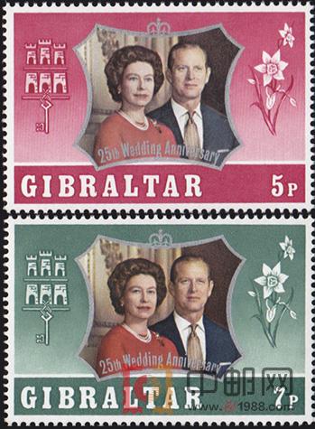 银婚纪念 英属直布罗陀,欧洲图片