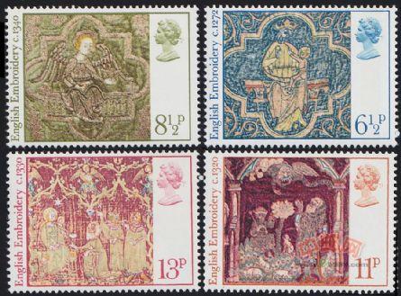 圣诞节·英国中世纪刺绣艺术品